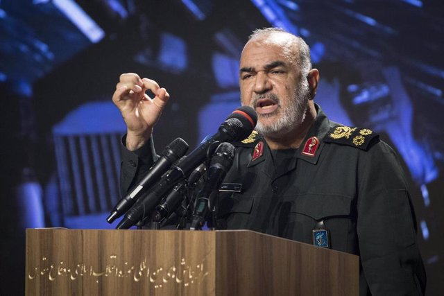 El comandante de la Guardia Revolucionaria de Irán, Hosein Salami