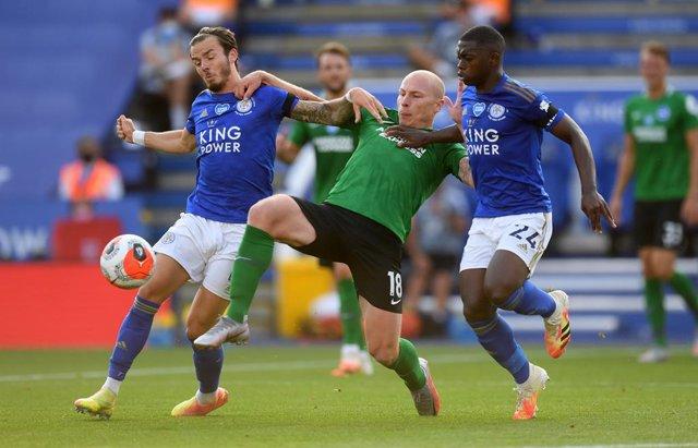 Fútbol/Premier.- (Crónica) El Leicester mantiene la tercera posición y el Totten