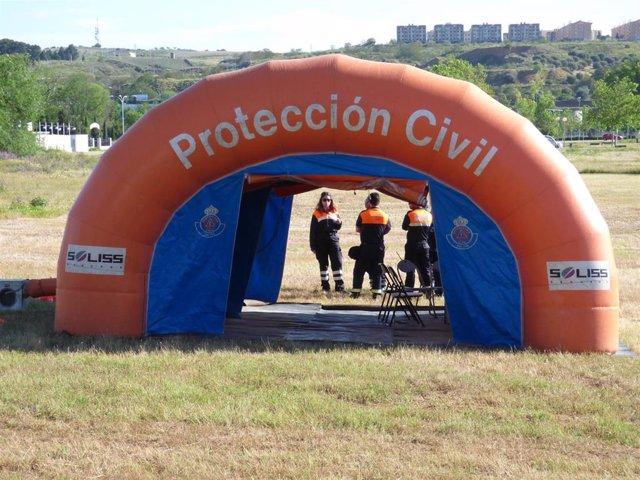 Agrupaciones de Protección Civil en C-LM.