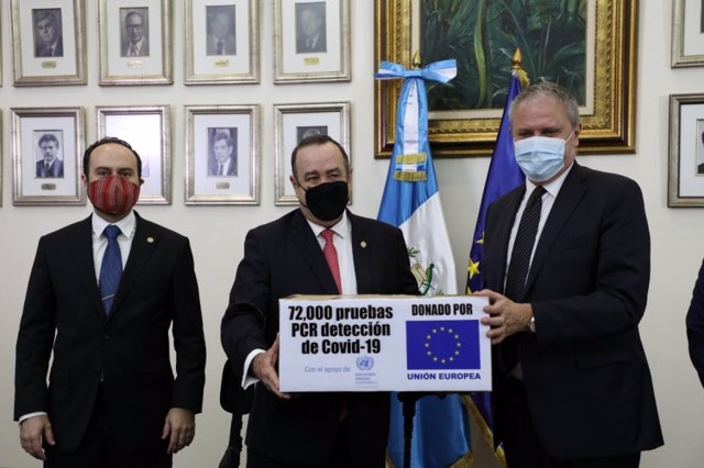 Coronavirus.- Guatemala registra sendos récords de contagiados y fallecidos