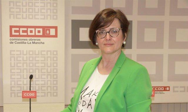 La secretaria regional de Acción Sindical y Formación Sindical de CCOO CLM, Carolina Vidal.