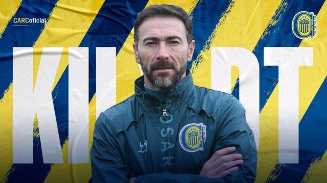 Fútbol.- Kily González, nuevo entrenador de Rosario Central