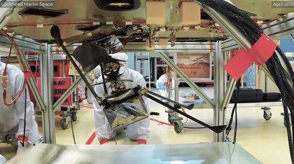 Los 13 centímetros más difíciles para que un helicóptero llegue a Marte