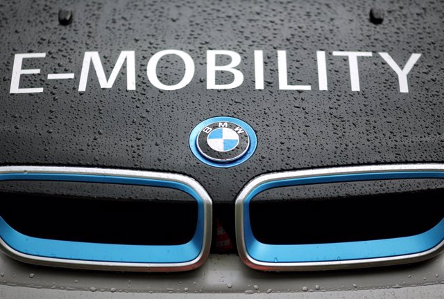 Imagen de un modelo eléctrico de BMW.