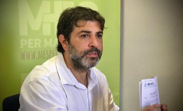 El diputado de MÉS per Mallorca, Josep Ferrà.