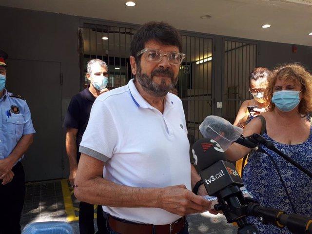 El teniente de alcalde de Seguridad del Ayuntamiento de Barcelona, Albert Batlle.