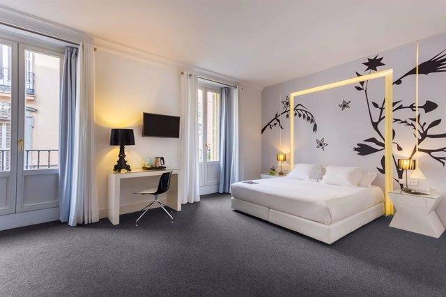 Habitación de Hotel Room Mate