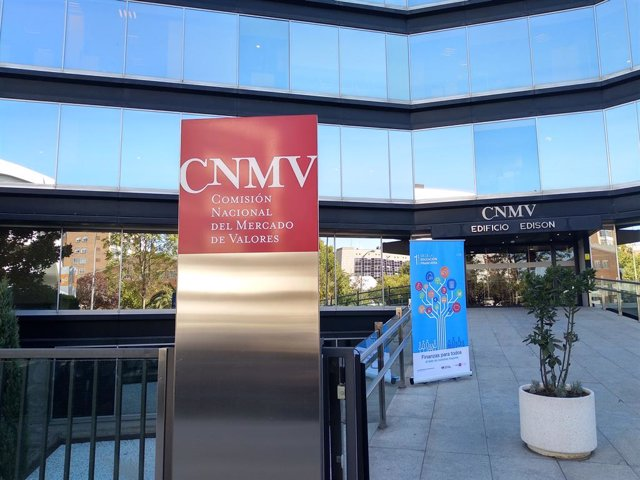 Edificio sede de la Comisión Nacional del Mercado de Valores (CNMV) en Madrid