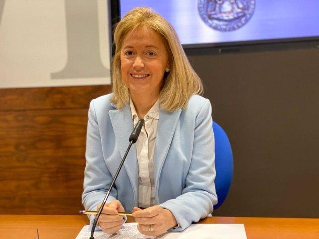 Portavoz de Vox en el Ayuntamiento de Oviedo, Cristina Coto.