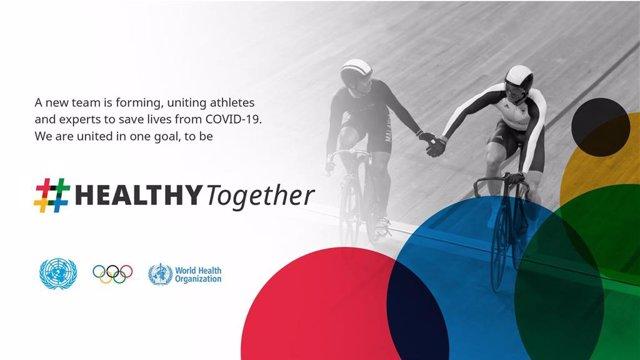 Naciones Unidas, OMS y el COI lanzan una campaña para animar a la población a estar sana