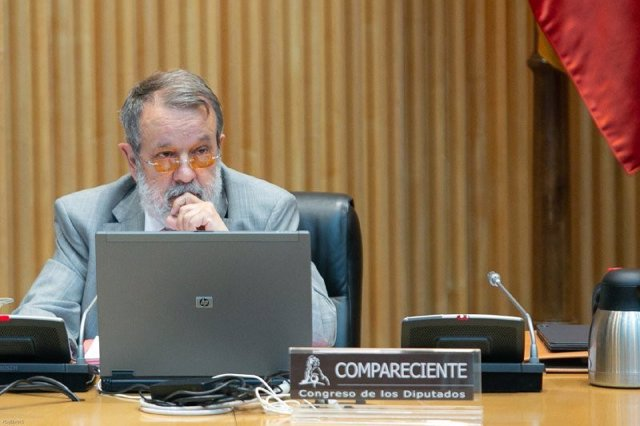 El Defensor del Pueblo, Francisco Fernández Marugán, en el Congreso