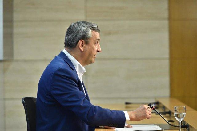 El portavoz del Gobierno de La Rioja, Chus del Río