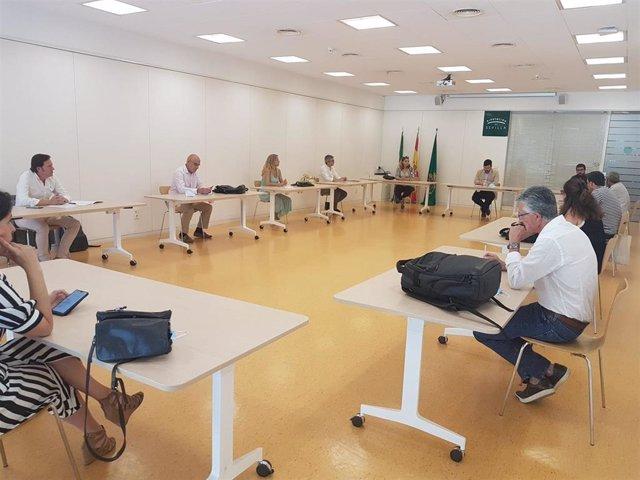 Reunión del jurado del premio de comunicación 'Manuel Alonso Vicedo'