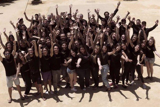 El Joven Coro de Andalucía, foto de archivo