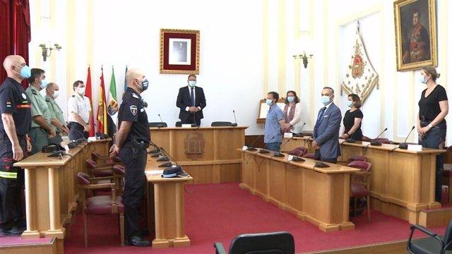 Acto de homenaje en Mérida a víctimas de la Covid-19