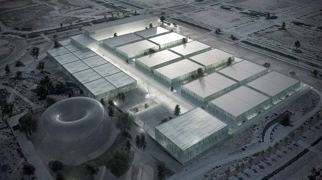 Futuro hospital de emergencias en Valdebedas