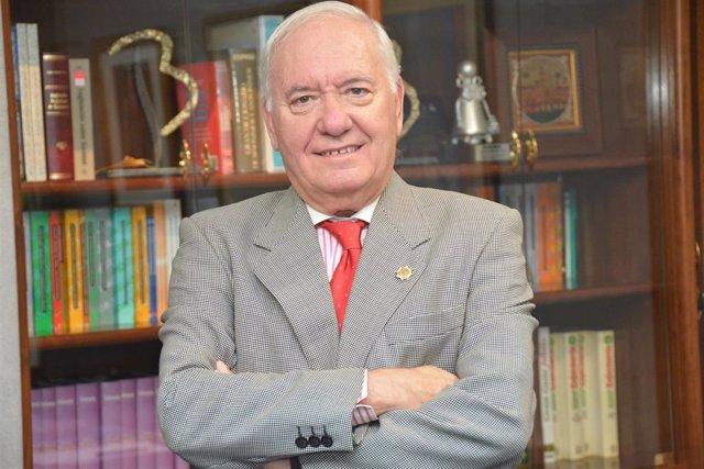 El presidente del Colegio de Enfermería de Córdoba, Florentino Pérez Raya.