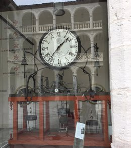 El reloj de la UVA, motivo del Cupón de la ONCE en el sorteo del 29 de junio.