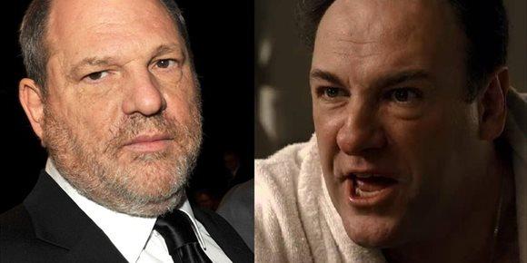 3. El día que Tony Soprano quiso apalear a Harvey Weinstein