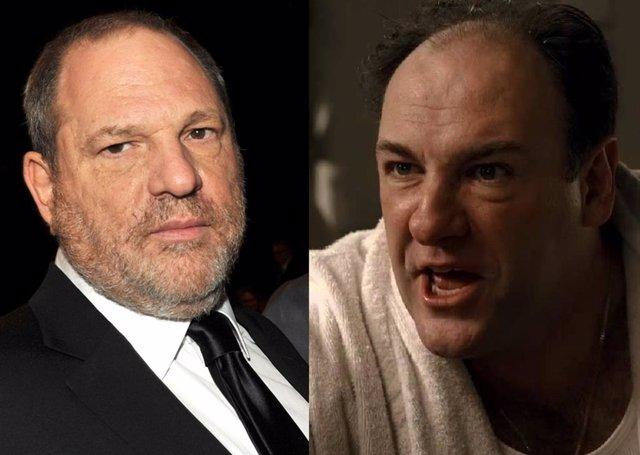 El día que Tony Soprano quiso apalear a Harvey Weinstein