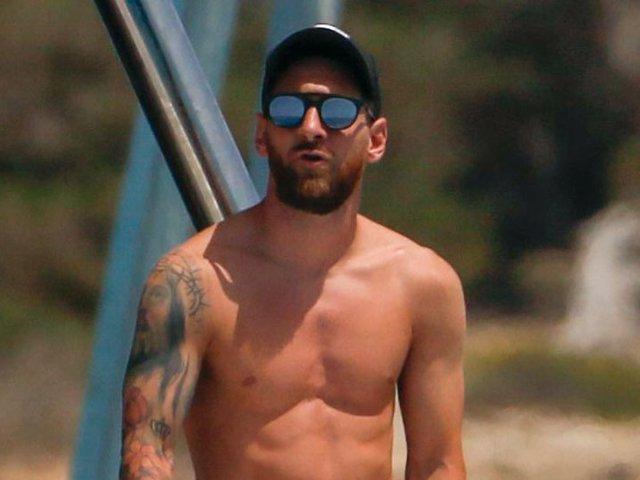 Leo Messi, durante sus últimas vacaciones estivales en Ibiza