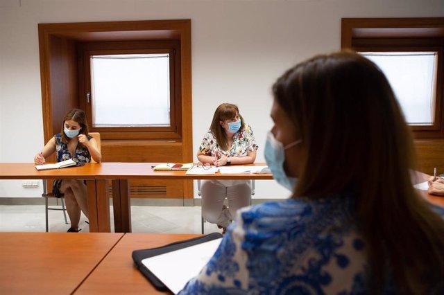 Reunión del PSOE-A con la Asociación de Comedores Escolares de Andalucía.