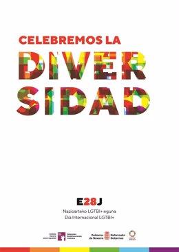Cartel de la campaña 'Celebremos la diversidad'