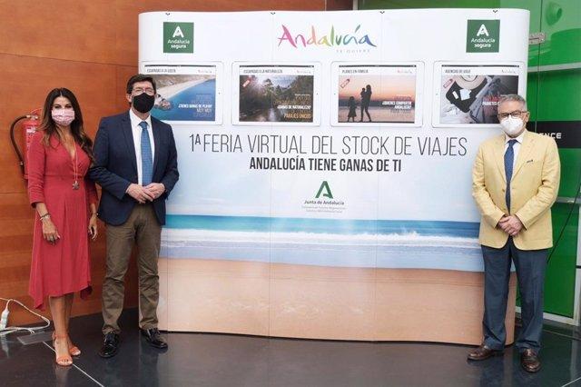 PResentación de la Feria Virtual de Stock de Viajes.