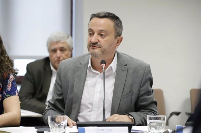 Imagen del concejal socialista Pedro Barrero.