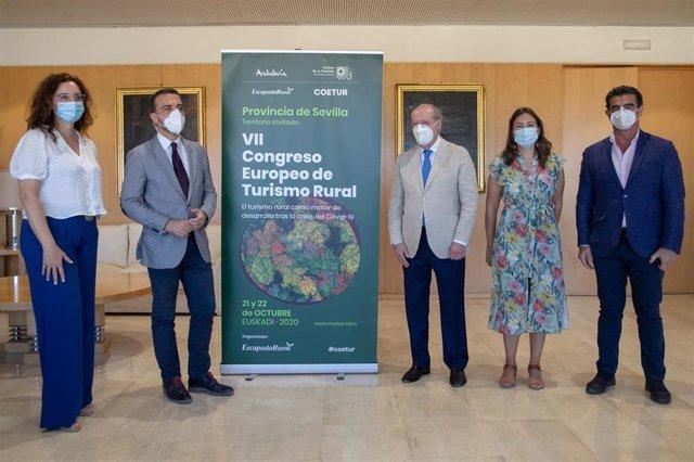 """[Sevilla] Np: La Provincia De Sevilla Participa Como 'Territorio Invitado' En El Vii Congreso Europeo De Turismo Rural """"En Un Momento Clave Para El Sector"""""""