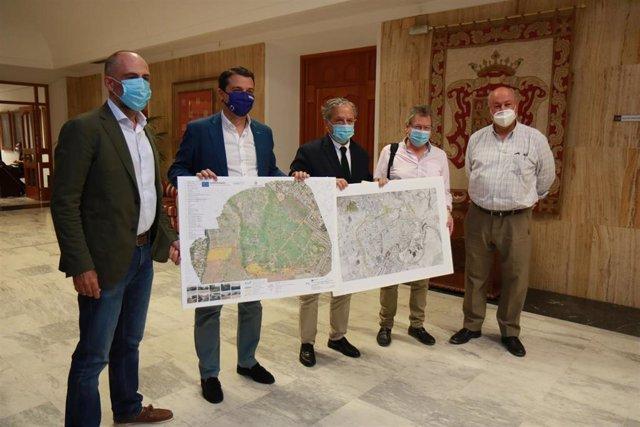 Presentación de la recuperación del Parque del Patriarca.