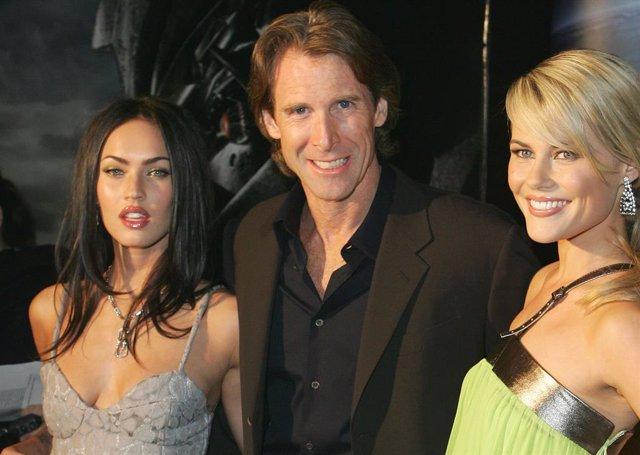 Megan Fox, Michael Bay Y Rachael Taylor En La Premiere De Transformers