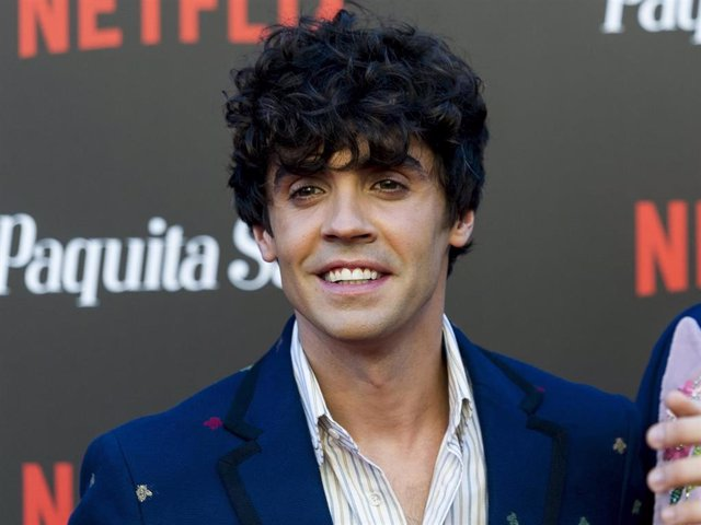 Javier Ambrossi and Javier Calvo attend World Premiere of Netflix's Paquita Salas Season 2 on June 28, 2018 in Madrid, Spain.