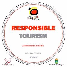 Sello Turismo Responsable en Hellín.