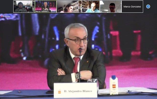 """JJ.OO.- Alejandro Blanco: """"Tendremos controlado el coronavirus antes de julio de"""