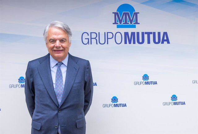 El presidente de Grupo Mutua Madrileña, Ignacio Garralda, en la presentación de resultados de 2019.