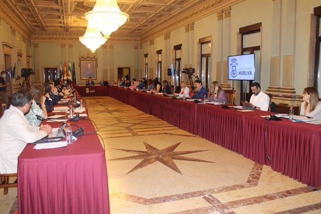 24.6.20 Nota Y Fotos Ayto Huelva (Pleno Junio)