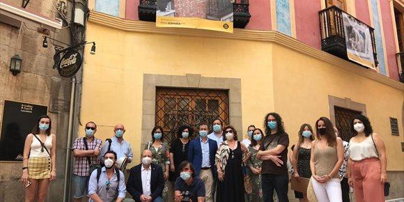 1. El Ayuntamiento inaugura la muestra colectiva de fotógrafos jiennenses '#PHEdesdemibalcón'