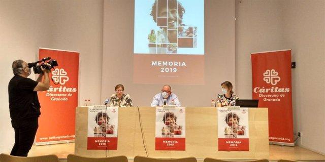 Presentación del informe 2019 de Cáritas en Granada