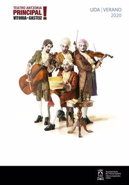 Un concierto de Ruper Ordorika reabrirá el Teatro Principal de Vitoria el próximo 17 de julio