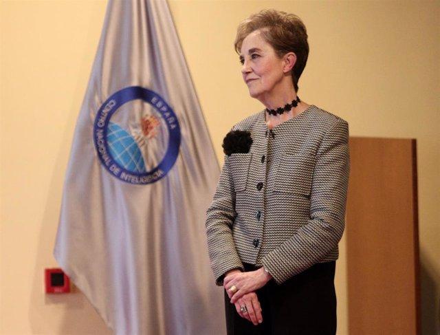 La secretaria de Estado y directora del Centro Nacional de Inteligencia (CNI), Paz Esteban, en su toma de posesión