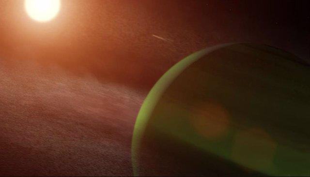 Un planeta tamaño Neptuno, hallado orbitando una joven estrella vecina