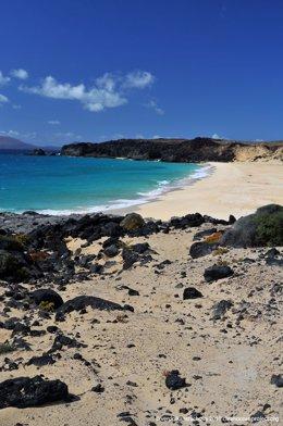 Playa de la Concha en Fuerteventura.