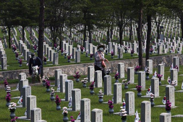Corea.- Seúl recupera los restos de 147 soldados caídos durante la guerra de Cor