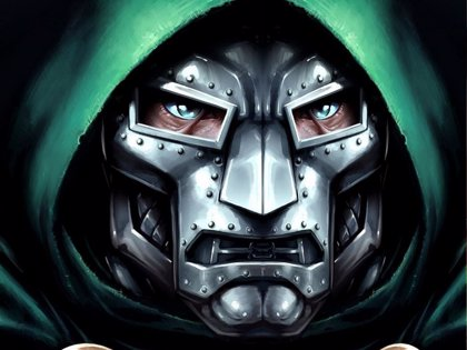 Los héroes de Marvel contra Doctor Doom en Vengadores 5: Secret Wars, un brutal póster fan-art