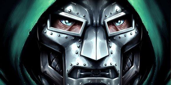 2. Los hérores de Marvel contra Doctor Doom en Vengadores 5: Secret Wars, un brutal póster fan-art