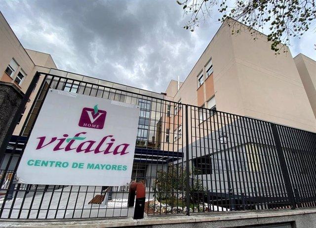 Centro de Mayores Vitalia ubicado en Leganés.
