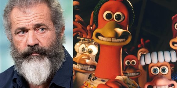 1. Mel Gibson, fuera de la secuela de Chicken Run que prepara Netflix