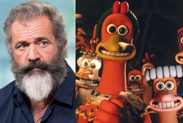 Mel Gibson no estará en la secuela de Chicken Run