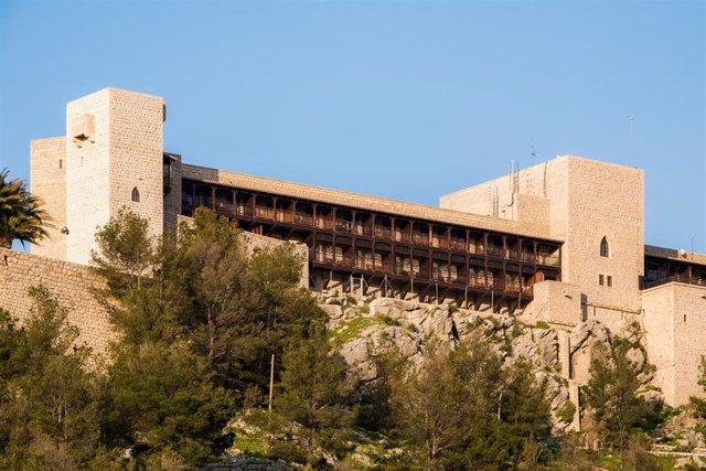 Exterior del Parador de Jaén.